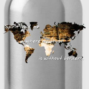 Trust Without Borders - Water Bottle
