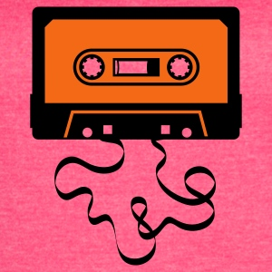 audio tape cassette recorder cassette player deck  Tanks - Women's Vintage Sport T-Shirt