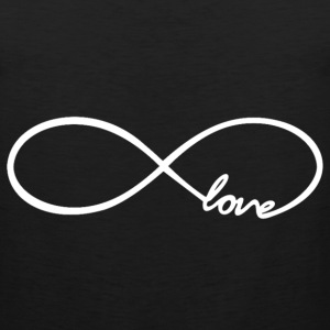 Infinity Love Design Women's T-Shirts - Men's Premium Tank