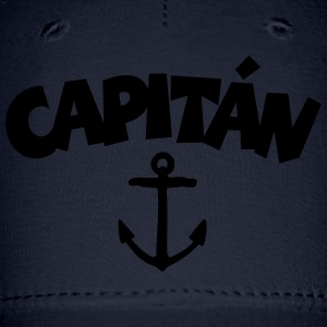 Capitán Anchor T-Shirt (White/Front) - Baseball Cap