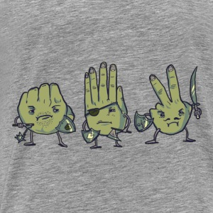 Rock Paper Scissors Crewneck - Men's Premium T-Shirt