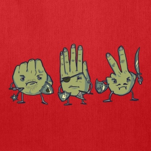 Rock Paper Scissors Tee - Tote Bag