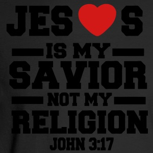 JESUS IS MY SAVIOR NOT MY RELIGION - Men's Long Sleeve T-Shirt