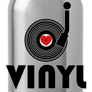 I Luv Vinyl T-Shirts - Water Bottle