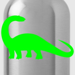 brontosaurus dinosaur huge! Caps - Water Bottle