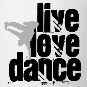 Live, Love, Dance - Coffee/Tea Mug