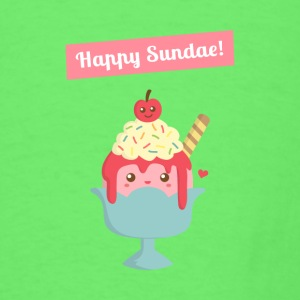 Sundae is for Sunday! Cute Cartoon Sundae Baby & Toddler Shirts - Men's T-Shirt