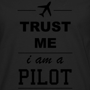 Trust me I´m a Pilot 1c Hoodies - Men's Premium Long Sleeve T-Shirt