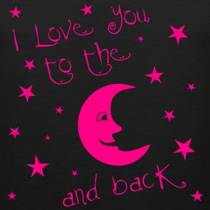 I love you to the MOON and back Women's T-Shirts - Men's Premium Tank