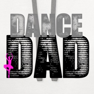 Dance Dad with Ballerina - Contrast Hoodie