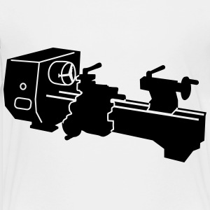 lathe_t1 Kids' Shirts - Toddler Premium T-Shirt
