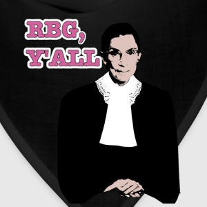Justice RBG in full color, y'all. (Unisex T) - Bandana