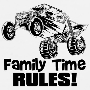 Family Time Dune Buggy Bottles & Mugs - Men's Premium T-Shirt