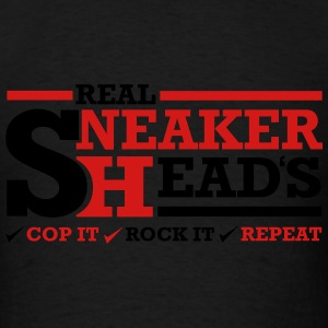 Real Sneakerheads Routine Long Sleeve Shirts - Men's T-Shirt