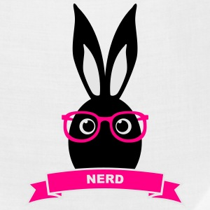 Nerd hipster rabbit hare bunny cony glasses specs Baby & Toddler Shirts - Bandana