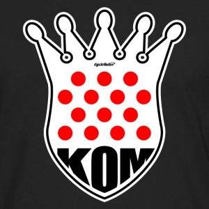 KOM King of the Mountain Tour de France V neck - Men's Premium Long Sleeve T-Shirt