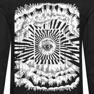 all seeing eye T-Shirts - Men's Premium Long Sleeve T-Shirt