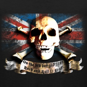 skull_and_flag_072013_gb_a T-Shirts - Men's Premium Tank