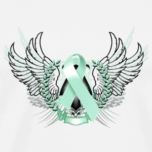 Awareness Teal Phone & Tablet Covers - Men's Premium T-Shirt