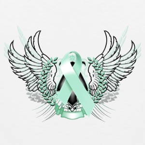 Awareness Teal Phone & Tablet Covers - Men's Premium Tank