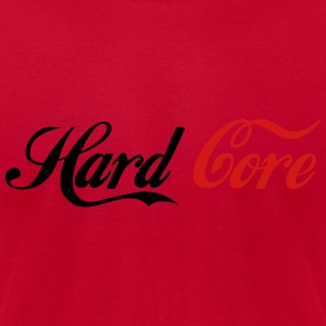 Hard Core - Men's T-Shirt by American Apparel
