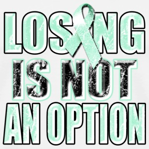 Losing Is Not An Option Phone & Tablet Covers - Men's Premium T-Shirt