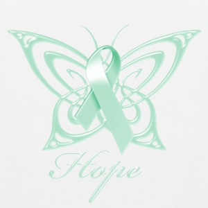 Ovarian Cancer Hope Butterfly Phone & Tablet Covers - Men's Premium Tank