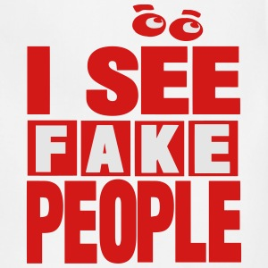 I SEE FAKE PEOPLE - Adjustable Apron