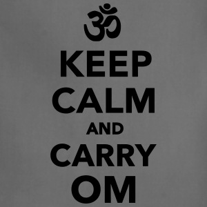 Keep calm and carry om T-Shirts - Adjustable Apron