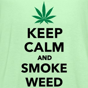 Keep calm and smoke weed T-Shirts - Women's Flowy Tank Top by Bella