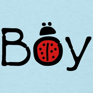 Boy ladybug Baby short sleeve one piece - Men's T-Shirt