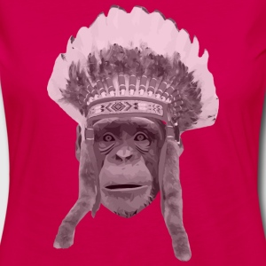 indian monkey Tanks - Women's Premium Long Sleeve T-Shirt