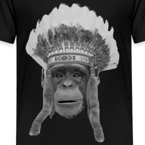 indian monkey Kids' Shirts - Toddler Premium T-Shirt