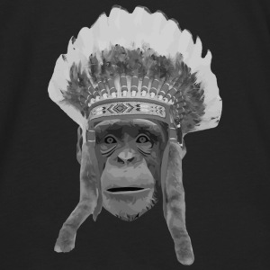 indian monkey Bags & backpacks - Men's Premium Long Sleeve T-Shirt