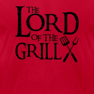 lord of the grill  Tanks - Men's T-Shirt by American Apparel
