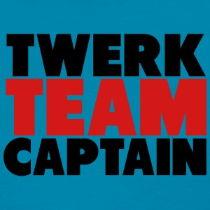 Twerk Team Captain Shirt Tanks - Women's T-Shirt