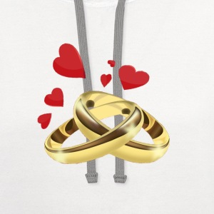 Rings T-Shirts - Contrast Hoodie