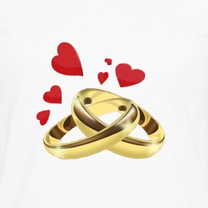 Rings T-Shirts - Men's Premium Long Sleeve T-Shirt