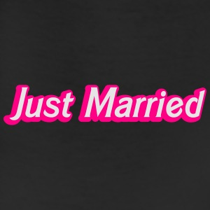 Just Married! cute recently married couples shirt Caps - Leggings