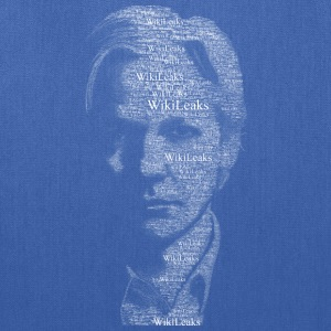Wikileaks Typographical Assange  Women's T-Shirts - Tote Bag