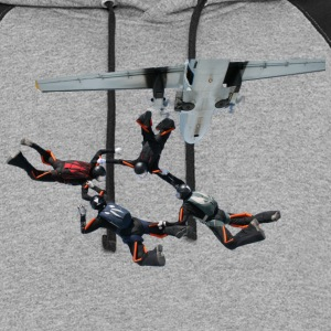 skydiving T-Shirts - Colorblock Hoodie