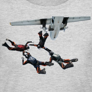 skydiving T-Shirts - Women's Long Sleeve Jersey T-Shirt