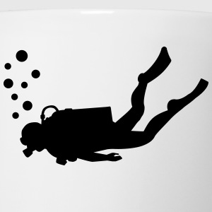 Scuba diver T-Shirts - Coffee/Tea Mug
