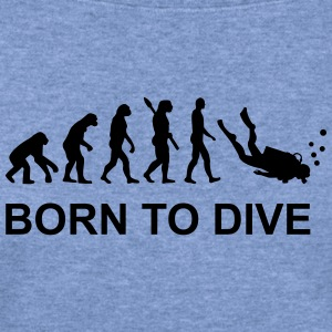 Evolution Diving T-Shirts - Women's Wideneck Sweatshirt