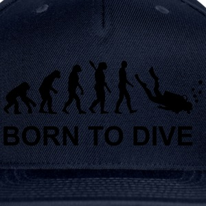 Evolution Diving T-Shirts - Snap-back Baseball Cap