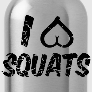 squats Women's T-Shirts - Water Bottle