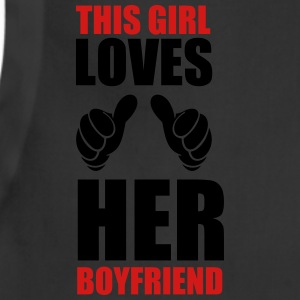 This girl loves her boyfriend - Adjustable Apron