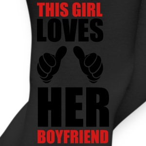 This girl loves her boyfriend - Leggings