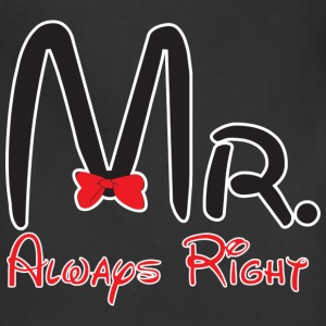 Mr. always right - Adjustable Apron