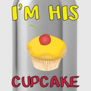 i'm his cupcake - Water Bottle